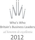 Who's Who Britain's Business Leaders 2012