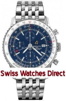 Breitling Navitimer 1 Chronograph GMT 46 Caliber 24 Automatic