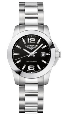 96772208972 Product details for Longines Watch Ref: L3.376.4.58.6. Series: Conquest;  Model: Gender: Women's Watches ...