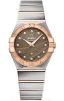 Omega Women's Watches - Constellation Brushed 27mm (Steel & Gold)