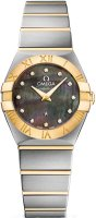 Omega Constellation Brushed 24mm (Steel & Gold)  Quartz