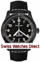 Breitling Navitimer 8 Black Steel Caliber Breitling 17 Automatic